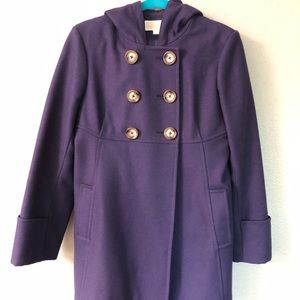 Michael Kors midnight blue peacoat